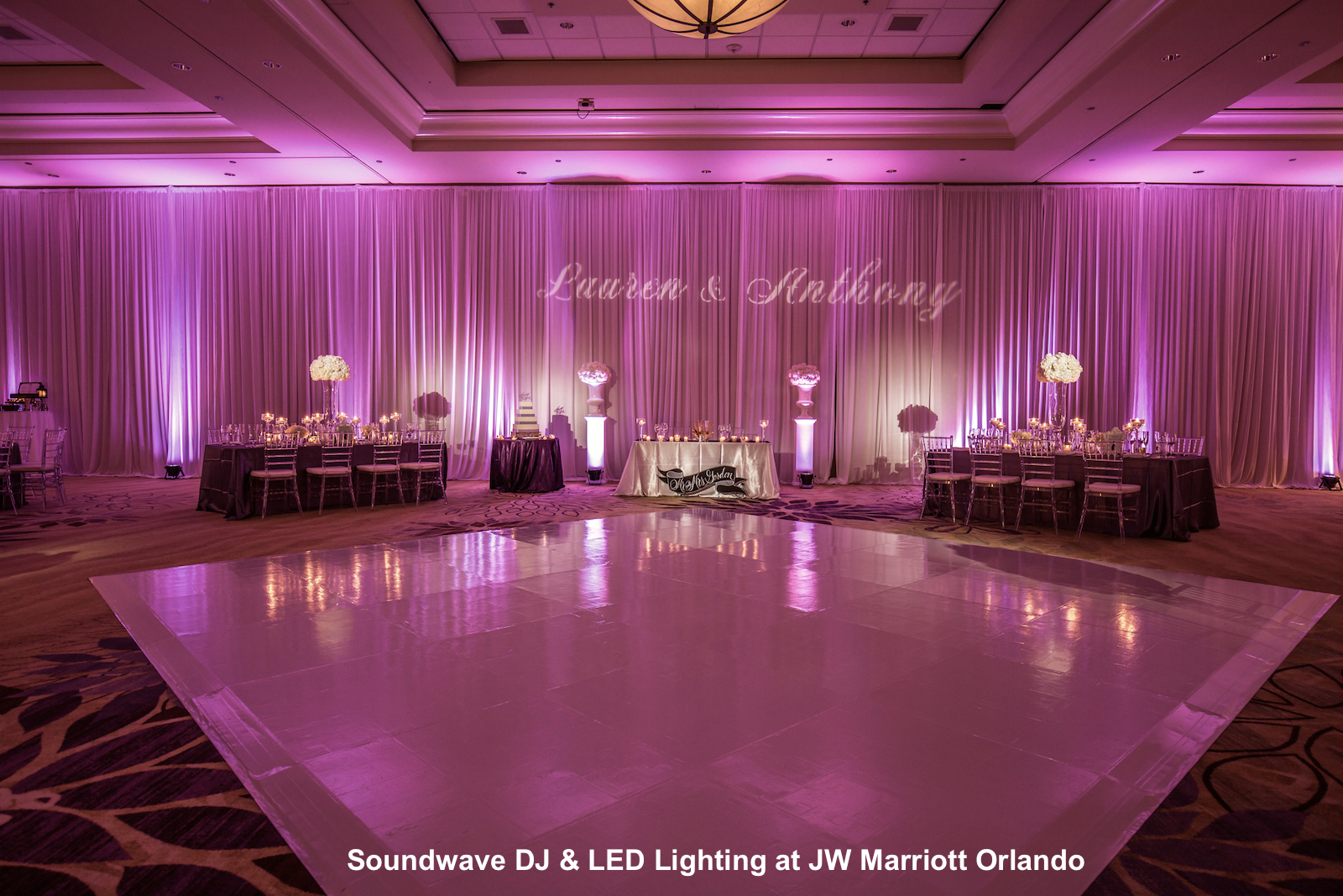 JW Marriott Orlando - orlando wedding venue - soundwave entertainment - orlando, fl