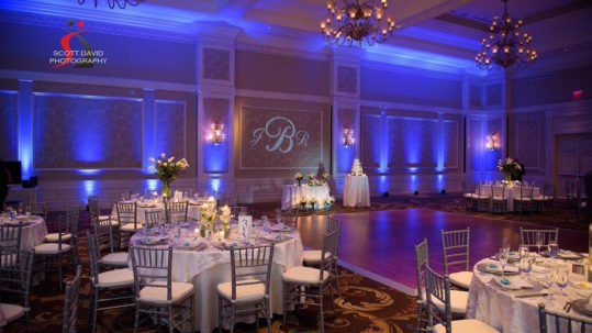 soundwave entertainment - LED Lighting - Orlando wedding venue - Orlando wedding DJ - Waldorf astoria