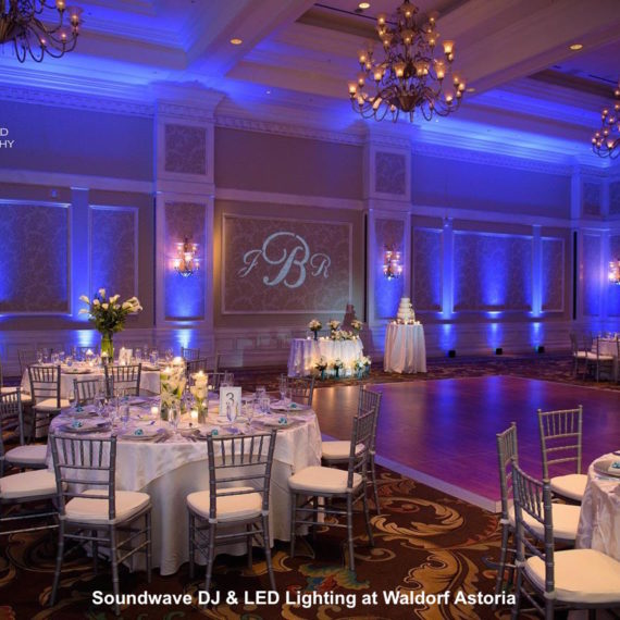 soundwave entertainment - LED Lighting - Orlando wedding venue - Orlando wedding DJ - Waldorf astoria