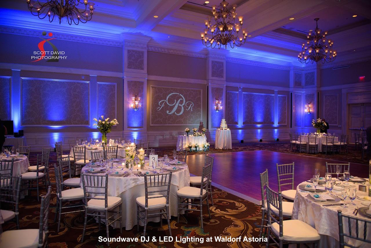 waldorf astoria orlando - orlando wedding venue - soundwave entertainment - orlando, fl