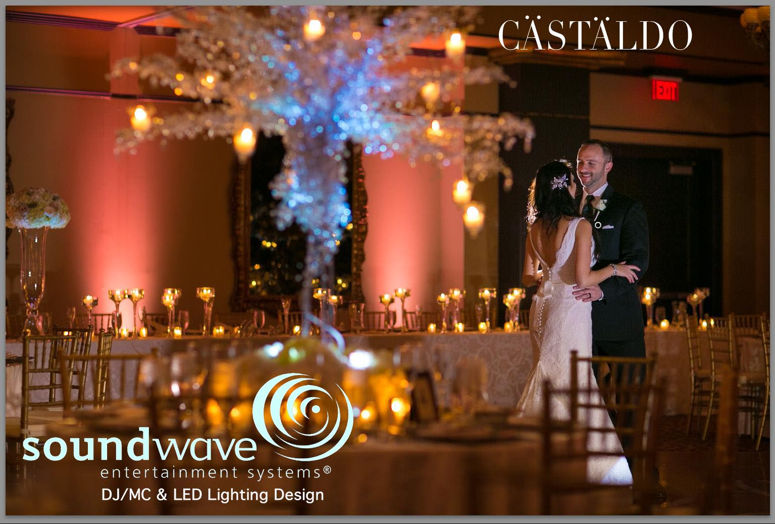 Soundwave Entertainment - Grand Bohemian - Orlando Wedding DJs - LED Lighting Design - Orlando Wedding Venues