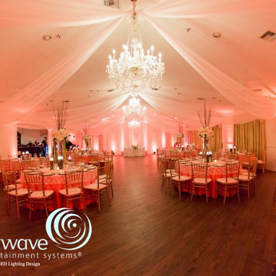 Highland Manor Soundwave DJ Led Lighting orlando wedding 1