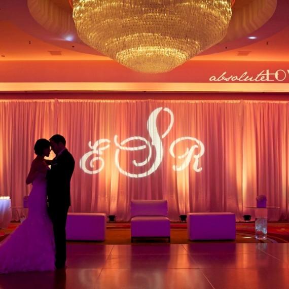 Hyatt Regency soundwave DJ LED lighting orlando wedding 1