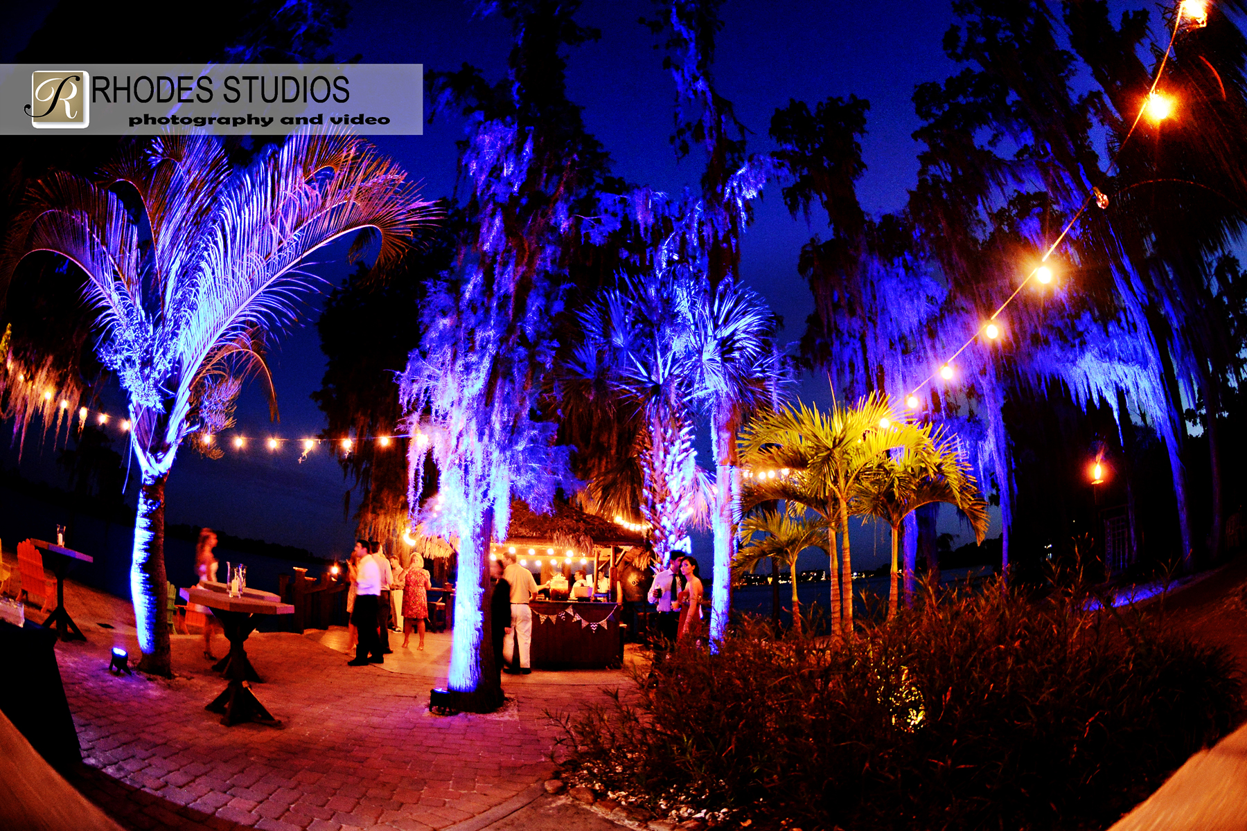 Paradise Cove Soundwave Dj Led Lighting Orlando Wedding 1