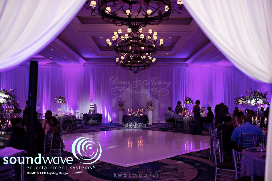 Led Lighting Design Soundwave Entertainment Wedding Djs Orlando Fl