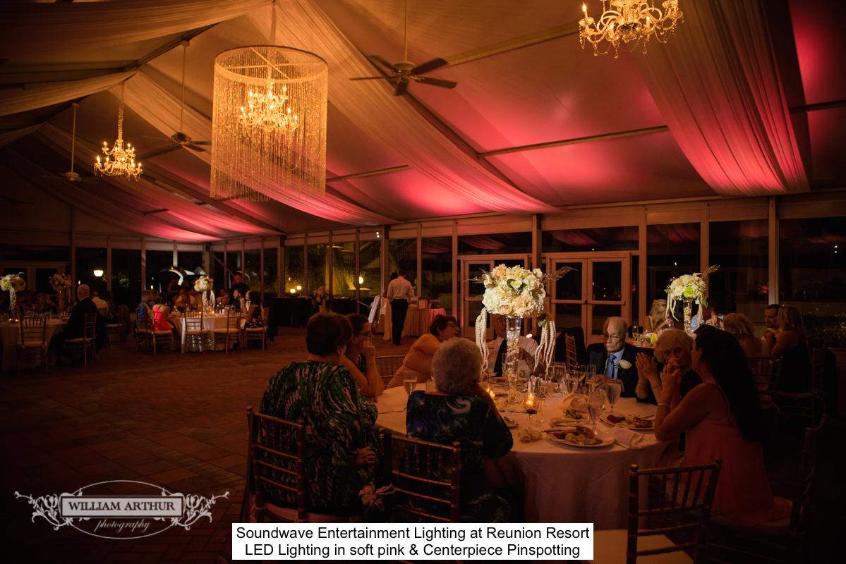 Soundwave Entertainment - Reunion Resort - Orlando Wedding DJs - LED LIghting Design - Orlando Wedding Venues
