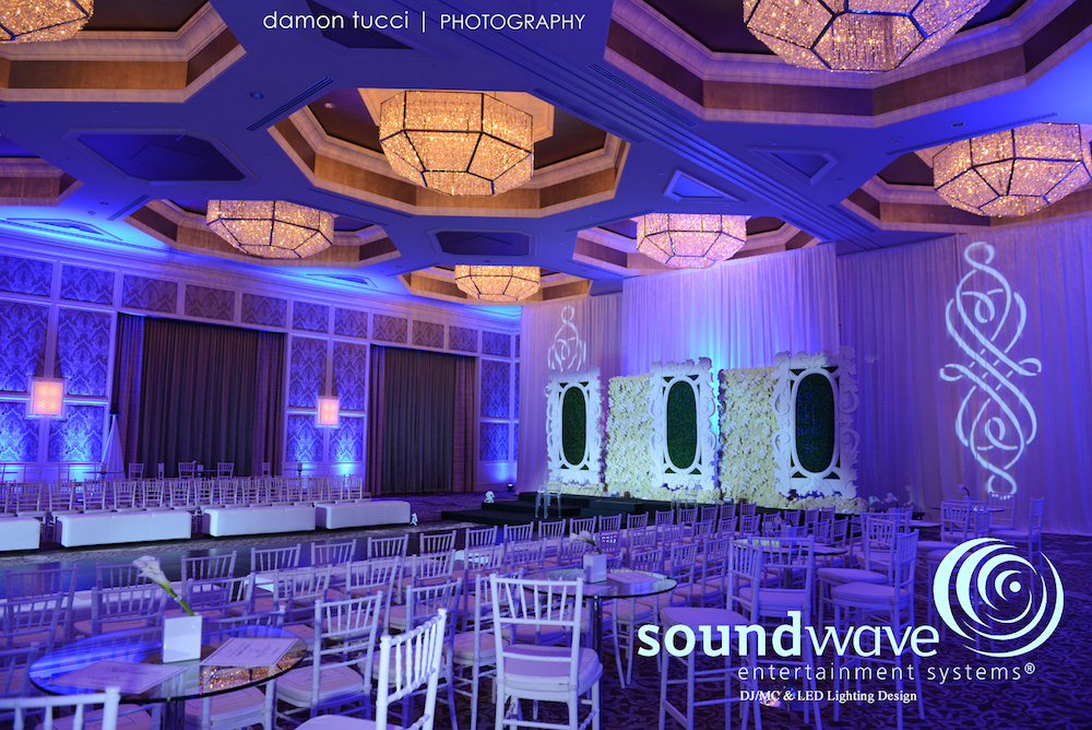 Soundwave Entertainment - Walldorf Astoria Orlando - Orlando Wedding Venues - Orlando Wedding DJs - LED Lighting Design
