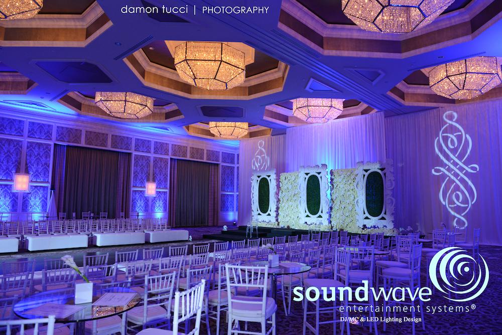 Soundwave Entertainment - Walldorf Astoria Orlando - Orlando Wedding Venues - Orlando Wedding DJs - LED Lighting Design