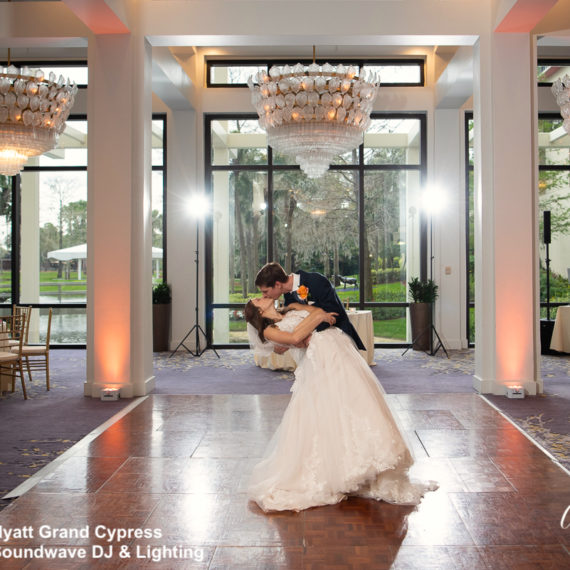 hyatt regency grand cypress - orlando wedding venue - soundwave entertainment