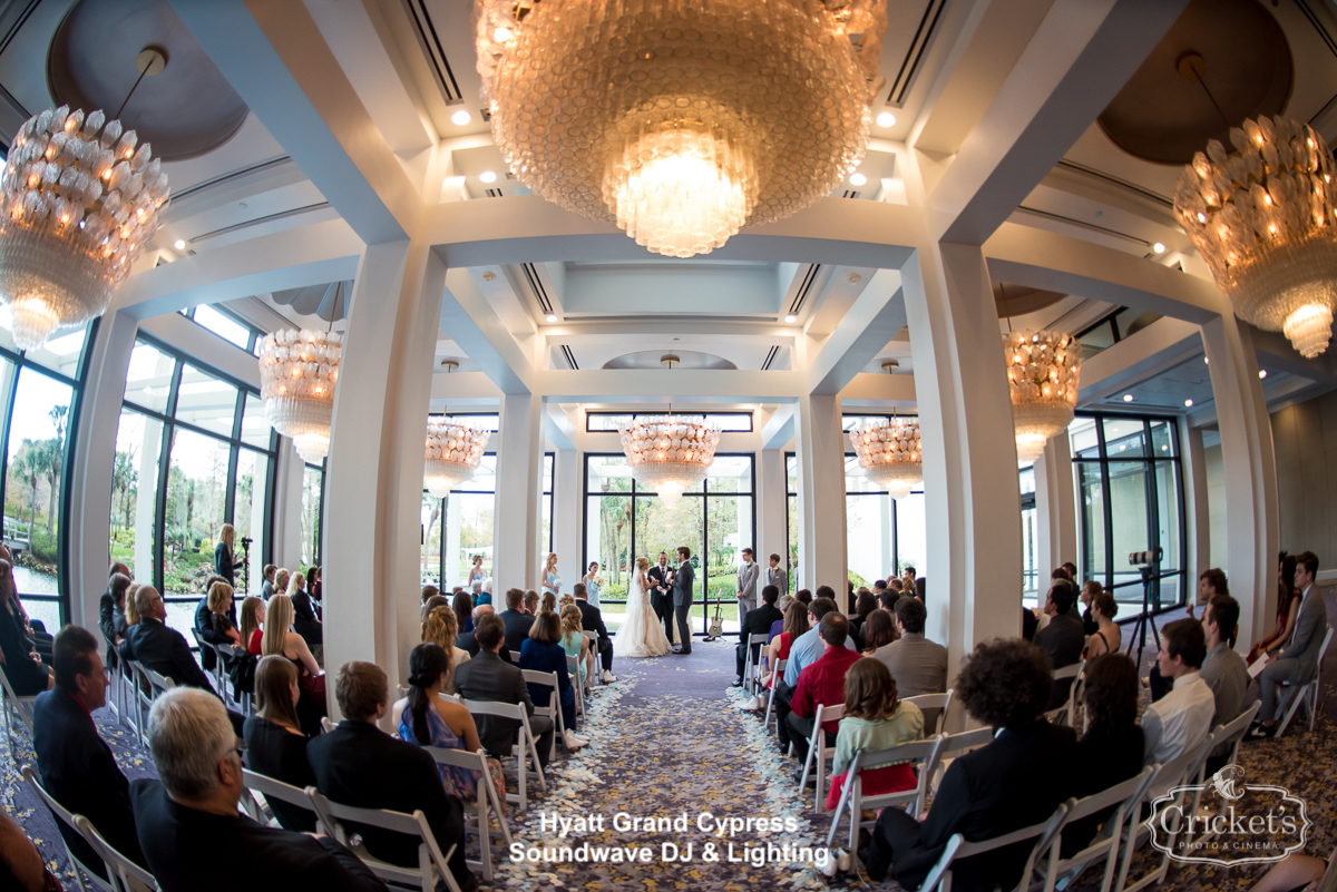 Hyatt Regency Grand Cypress Orlando Wedding