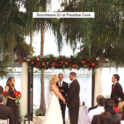 Soundwave Entertainment - Our Orlando Weddings - Paradise Cove, Orlando, FL