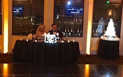 Citrus Club soundwave dj led lighting orlando wedding