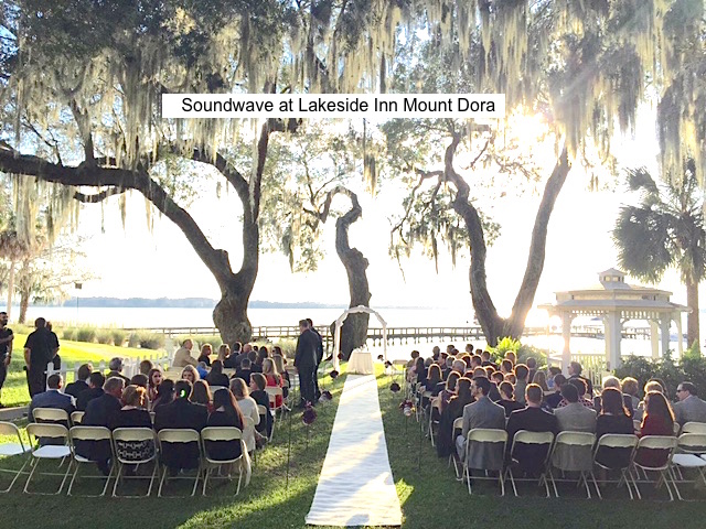 Soundwave Entertainment - Our Orlando Weddings - Lakeside Inn - Orlando, FL