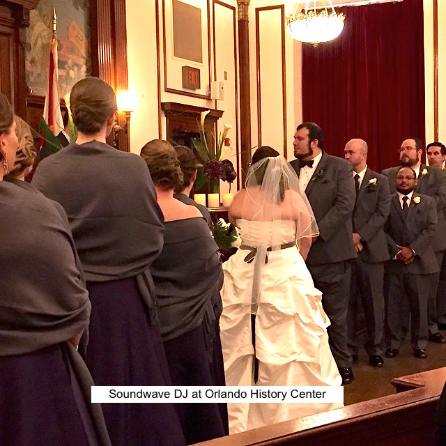 Soundwave Entertainment - Our Orlando Weddings - Orlando History Center - Orlando, FL