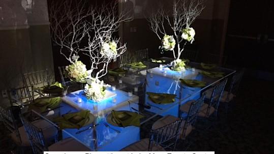 Soundwave DJ LED lighting orlando wedding Lake Mary Events Center