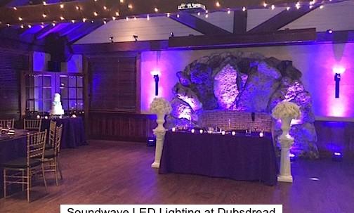 dubsdread orlando wedding Soundwave DJ LED lighting