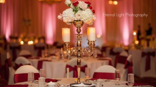 Ballroom church street wedding oralndo Soundwave DJ LED lighting