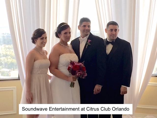 Soundwave Entertainment - Our Orlando Weddings - Citrus Club, Orlando, FL
