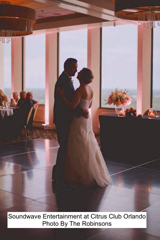 Soundwave Entertainment - Our Orlando Weddings - Citrus Club - Orlando, FL