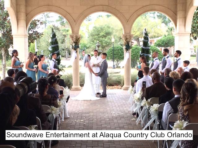 Soundwave Entertainment - Our Orlando Weddings - Alaqua Country Club - Orlando, FL