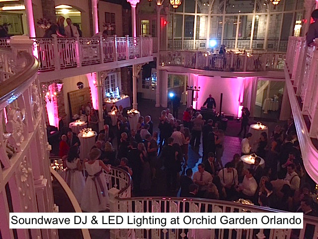 Soundwave Entertainment - Our Orlando Weddings - Orchid Garden - Orlando, FL