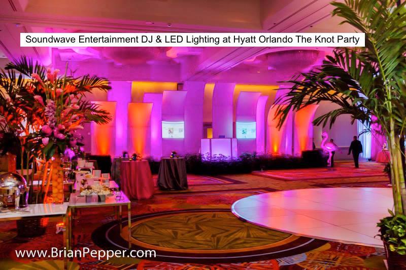 Soundwave Entertainment - Our Orlando Weddings - Hyatt Regency - Orlando, FL