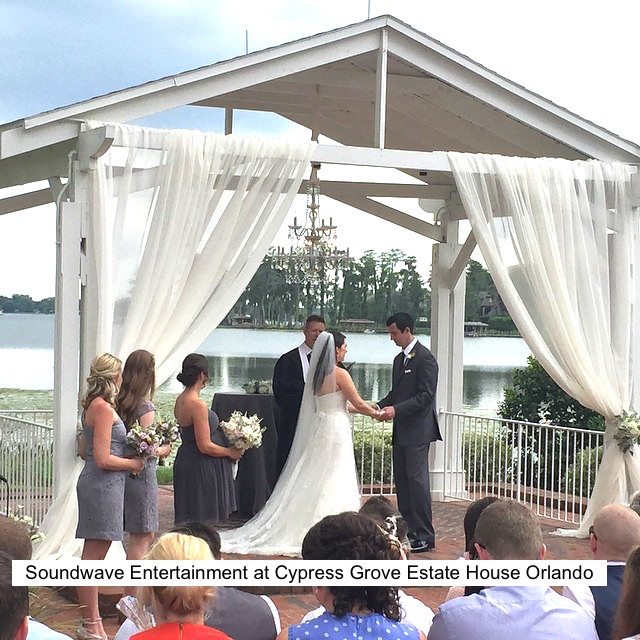 Soundwave Entertainment - Our Orlando Weddings - Cypress Grove Estate House, Orlando FL