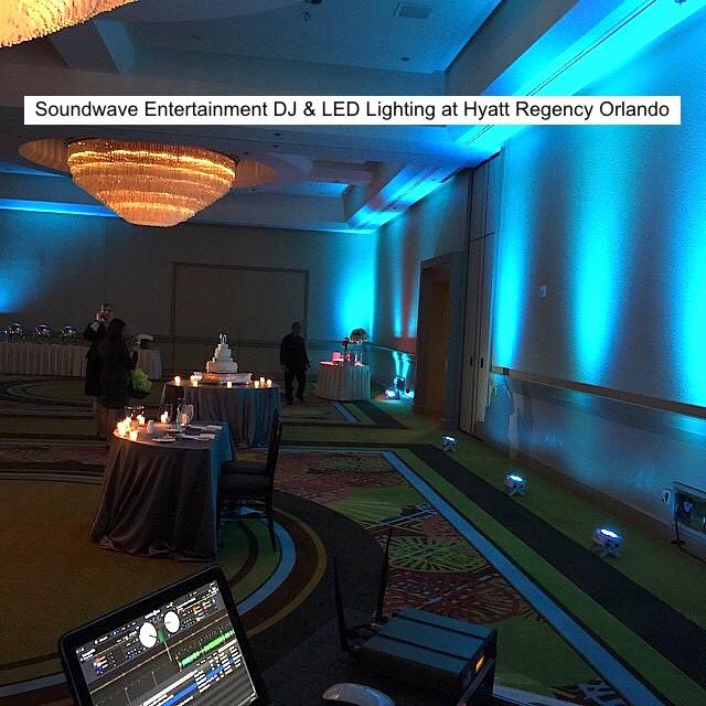 Soundwave Entertaintment - Our Orlando Weddings - Hyatt Regency Orlando - Orlando, FL