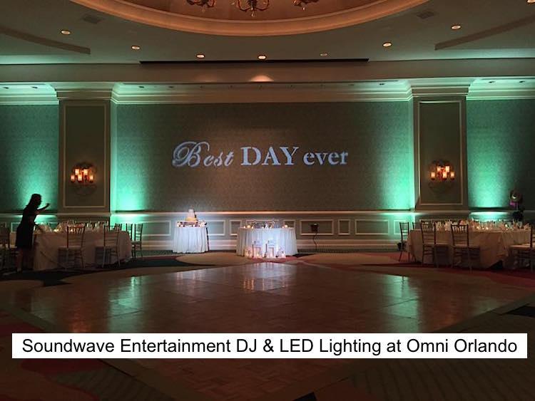 Soundwave Entertainment - Our Orlando Weddings - Omni Orlando Resort at ChampionsGate - Orlando, FL