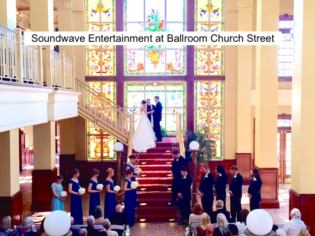 Soundwave Entertainment-Our Orlando Weddings - Ballroom at Church Street - Orlando, fl