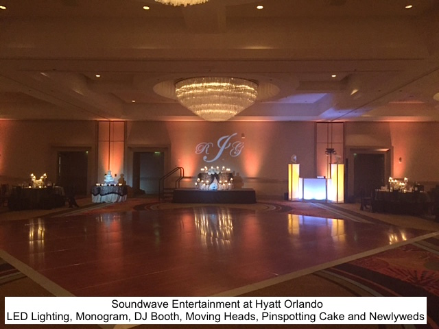 Soundwave Entertainment - Our Orlando Weddings - Hyatt Regency Orlando - Orlando, FL