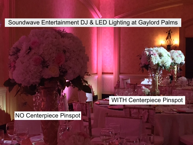 Soundwave Entertainment - Gaylord Palms Resort and Conference Center - Orlando Wedding Venues - Orlando Wedding DJs - LED LIghting Design