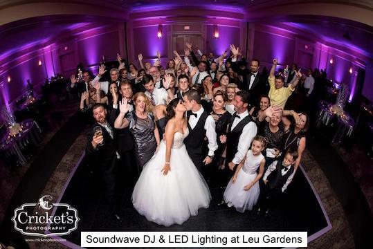 Leu Gardens Soundwave Entertainment Wedding Djs Led