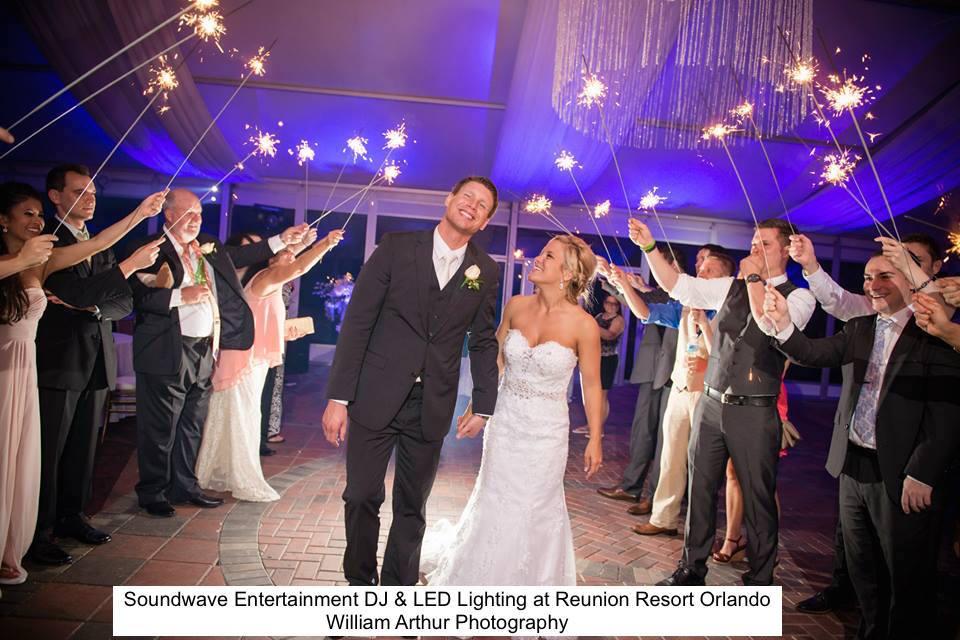 Soundwave Entertainment - Reunion Resort - Orlando Wedding DJs - Orlando Wedding Venues - LED Lighting Design