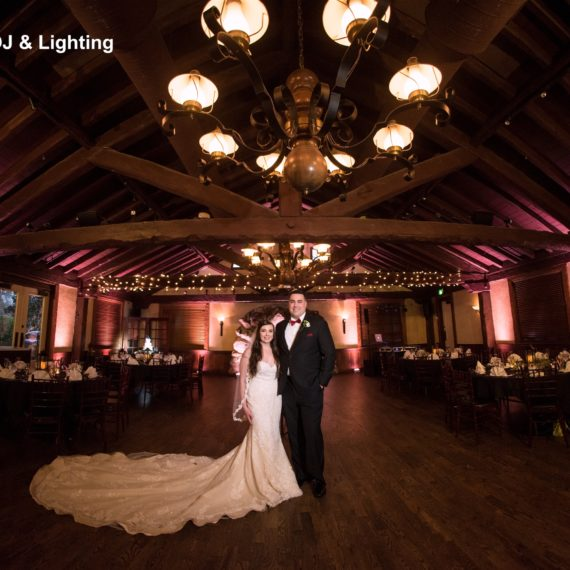 Historic Dubsdread Weddings: LED Lighting Design - Soundwave Entertainment