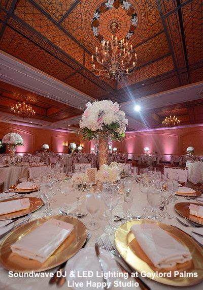 gaylord palms resort - orlando wedding venue - soundwave entertainment - orlando, fl