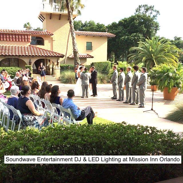 Soundwave Entertainment - Our Orlando Weddings - Mission Inn Resort and Club - Orlando, FL