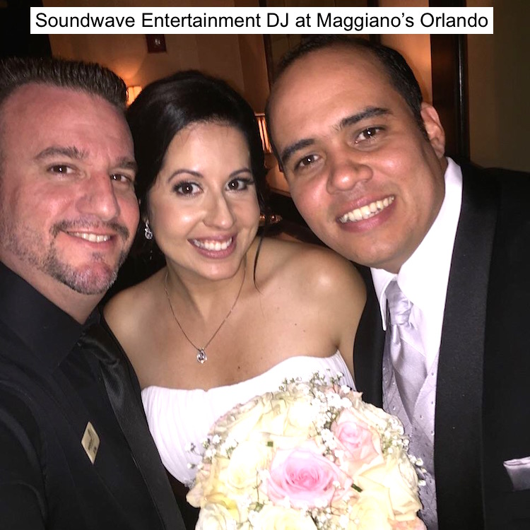 Soundwave Entertainment - Our Orlando Weddings - Maggiano's Little Italy, Orlando, FL
