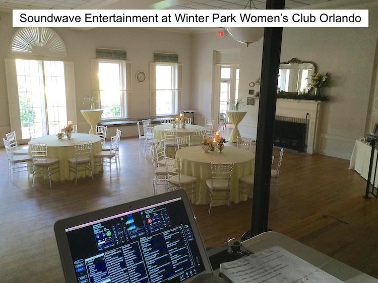 Soundwave Entertainment - Our Orlando Weddings - Woman's Club of Winter Park - Orlando, FL