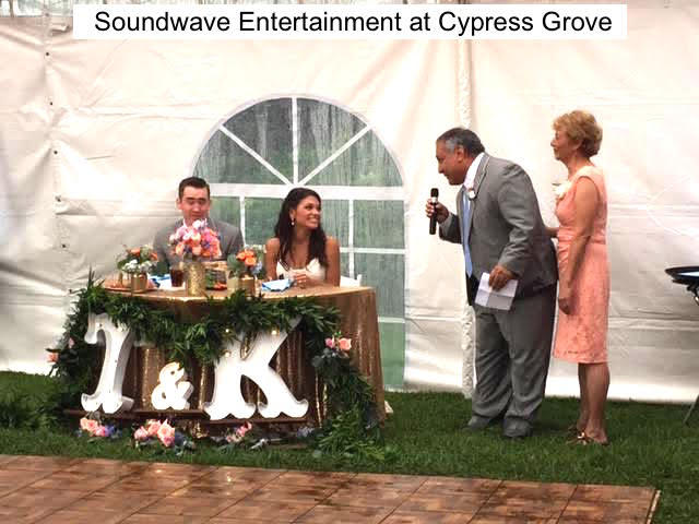 Soundwave Entertainment - Cypress Grove Estate House - Orlando Wedding Venues - Orlando Wedding DJs - LED Lighting Design