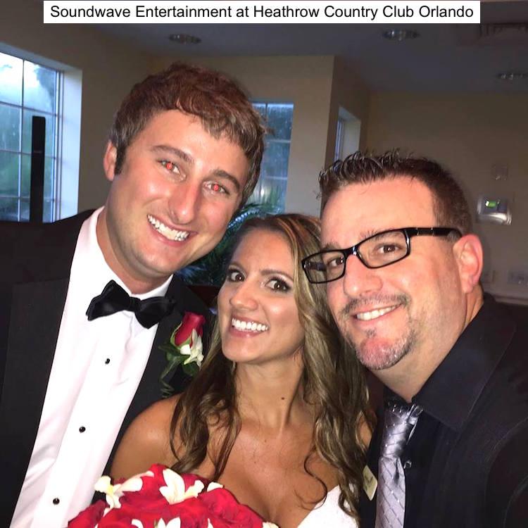 Soundwave Entertainment - Heathrow Country Club - Orlando Wedding Venues - Orlando Wedding DJs - LED Lighting Design