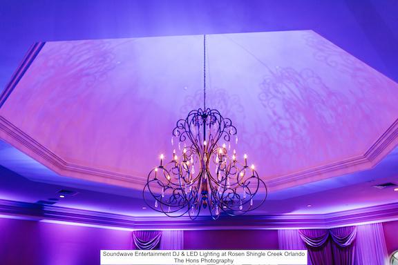Soundwave Entertainment - Rosen Shingle Creek - Orlando Wedding DJs - LED Lighting Design - Orlando Wedding Venues