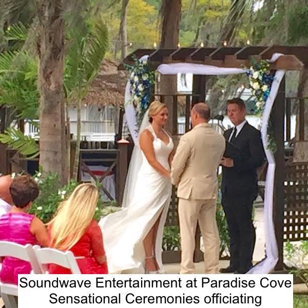 Soundwave Entertainment - Paradise Cove - Orlando Wedding Venues - LED Lighting Design - Orlando Wedding DJs