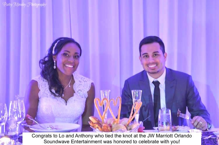 Soundwave Entertainment - Our Orlando Weddings - JW Marriott Grande Lakes - Orlando, FL