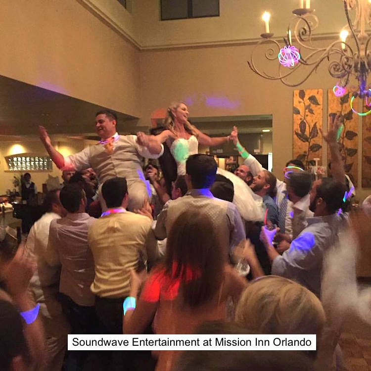 Soundwave Entertainment - Our Orlando Weddings - Mission Inn Resort and Club - Orlando, FL