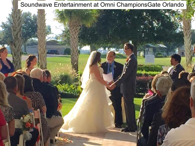 Soundwave Entertainment - Our Orlando Weddings - Omni Orlando Resort ChampionsGate - Orlando, FL