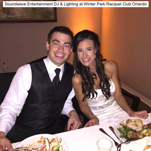 Soundwave Entertainment -Our Orlando Weddings - Winter Park Racquet Club - Orlando, FL