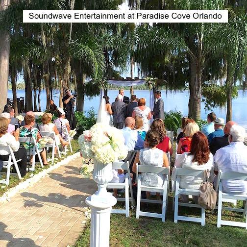 Soundwave Entertainment - Our Orlando Weddings - Pardise Cove - Orlando, FL