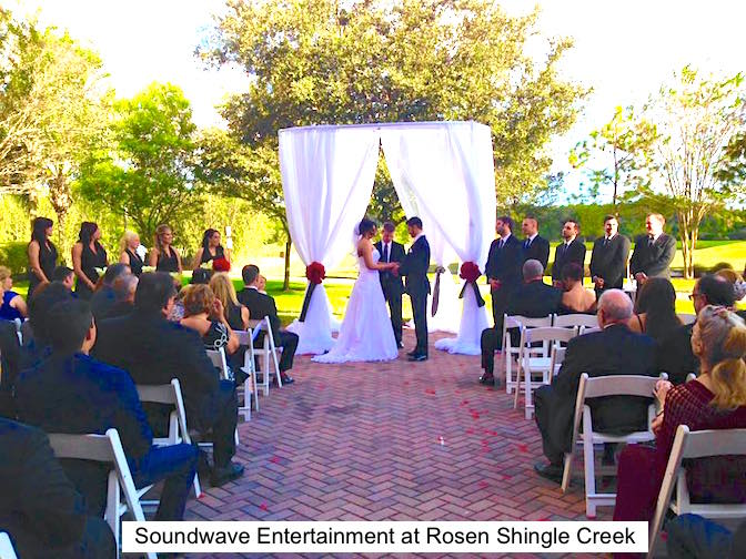 Soundwave Entertainment - Our Orlando Weddings - Rosen Shingle Creek - Orlando, FL