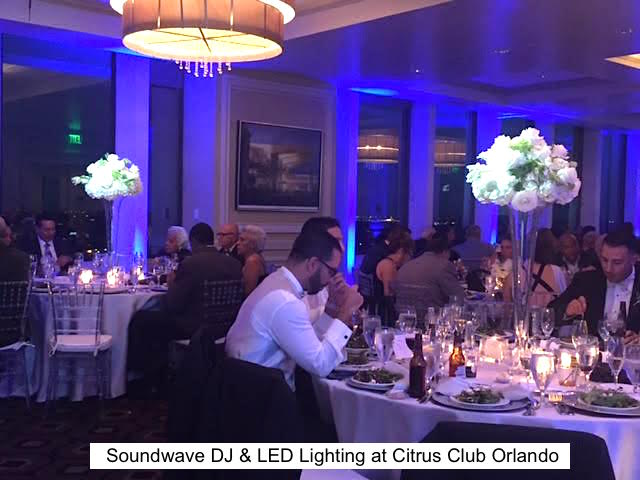 Soundwave Entertainment - Our Orlando Weddings - Citrus Club - Orlando, Fl
